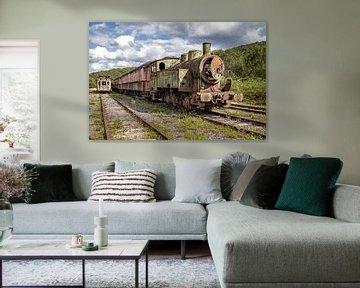 Der alte Zug von Paul Lagendijk