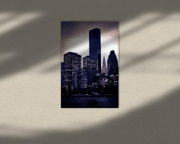 New York City Skyline von Maarten De Wispelaere