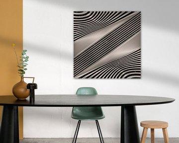 Lignes Geometric - Art Métallique sur Christine Nöhmeier