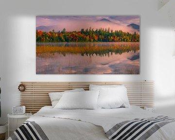 Connery Pond, Adirondacks State Park, USA van Henk Meijer Photography