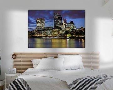 Finanzdistrikt London von Patrick Lohmüller
