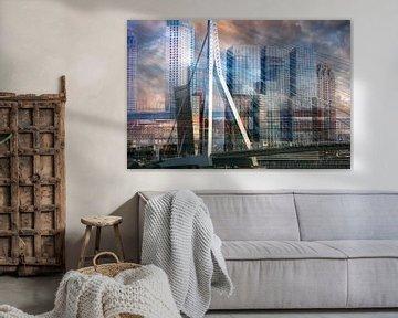 Rotterdamer Skyline von Dennisart Fotografie