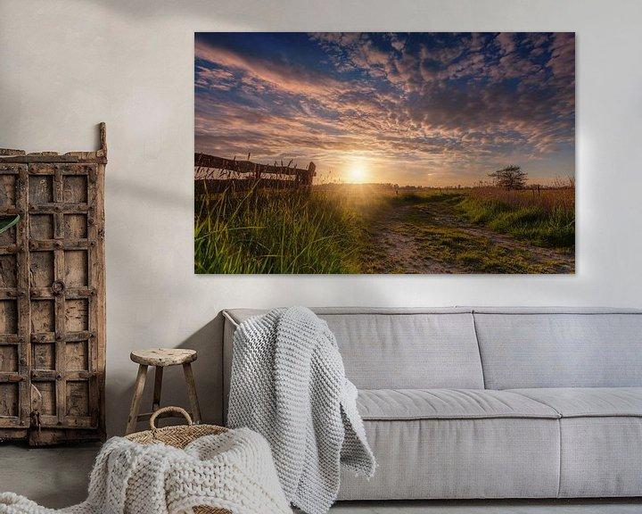 Sfeerimpressie: Sunburst De Onlanden met hek van R Smallenbroek