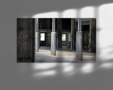 die leerstehende Fabrik von Danny van Zwam