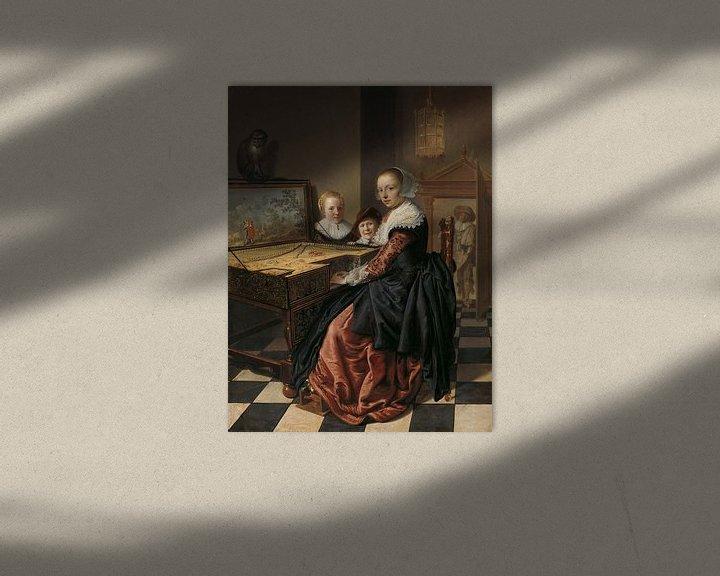 Beispiel: Der jungfräuliche Spieler, Jan Miense Molenaer.