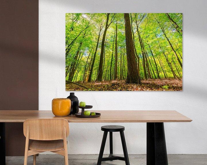 Sfeerimpressie: Door de bomen het bos niet meer zien van Sander Meertins
