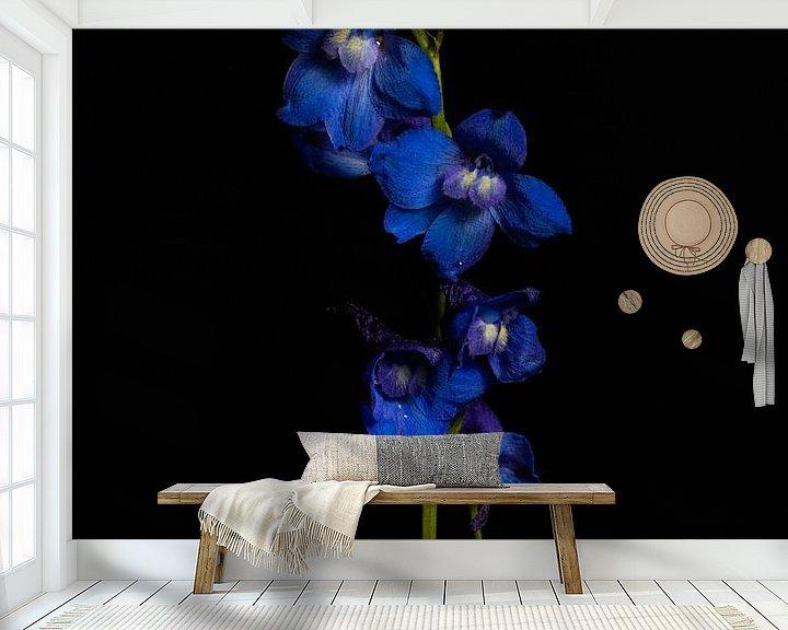 Beispiel fototapete: Ritterspornblüten von Tim Abeln