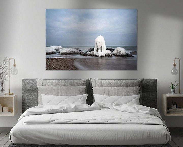 Beispiel: Winter an der Küste der Ostsee bei Kühlungsborn von Rico Ködder