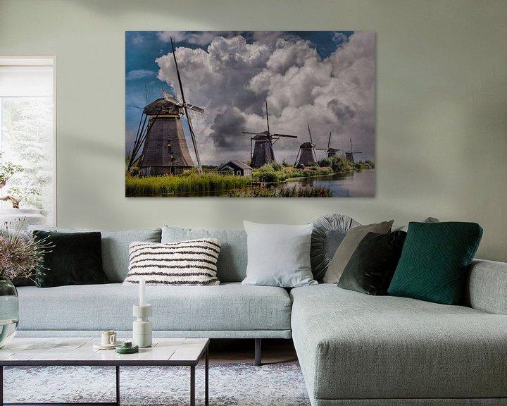 Beispiel: Thema, Mühlen, Kinderdijk, Niederlande von Maarten Kost