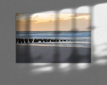 zonsondergang long exposure van Tania Perneel