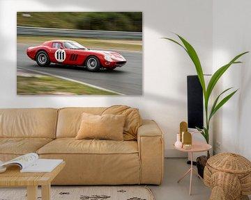 Ferrari 250 GTO op Zandvoort van Arjen Schippers