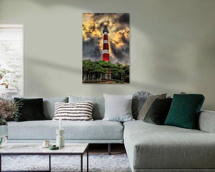 Impression: Lighthouse, Ameland, Pays-Bas sur Maarten Kost
