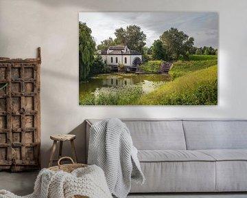 Oud gemaal bij het Nederlandse dorp Acquoy van Ruud Morijn