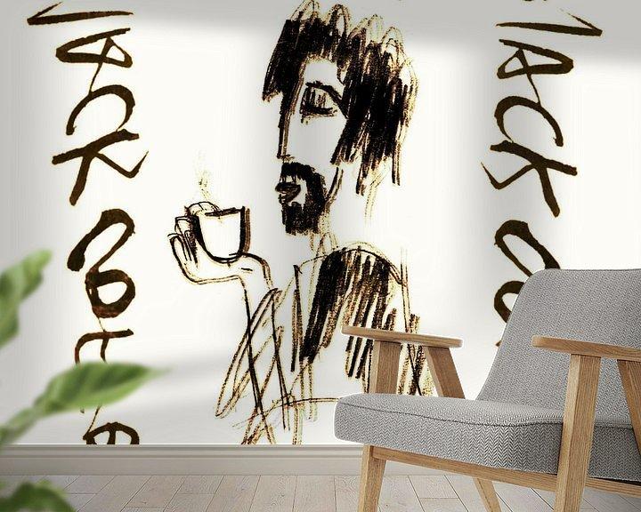 Impression: Black coffee sur sandrine PAGNOUX
