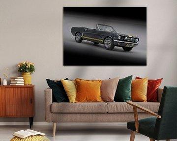 Ford Mustang Cabriolet 1965 van Willem van Holten