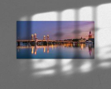 Sonnenuntergang in Kampen, Niederlande