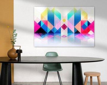 Geometrisch XXXXXXXV von Art Design Works