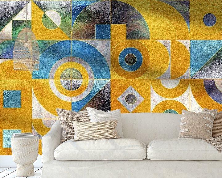 Beispiel fototapete: Geometrisch XXXXXXXVI von Art Design Works