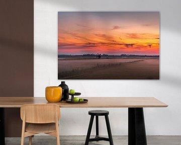 Texel zonsondergang De Staart van Texel360Fotografie Richard Heerschap