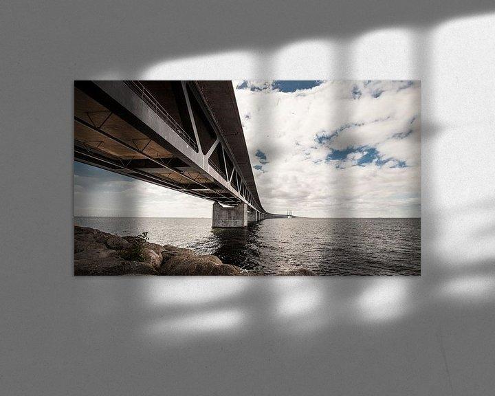 Impression: Pont de l'Oresund, Suède sur Sebastiaan Aaldering