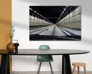 Tunnel Oresundbrug van Sebastiaan Aaldering