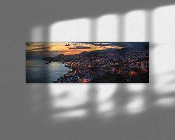 Madeira Funchal Panorama van Jean Claude Castor