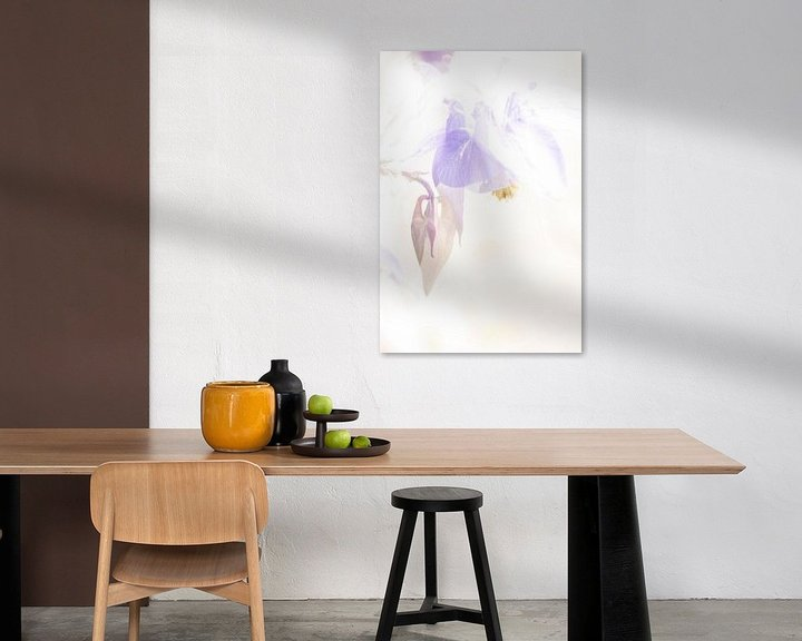 Impression: Aquarelle Tracée Akalei sur Erna Böhre