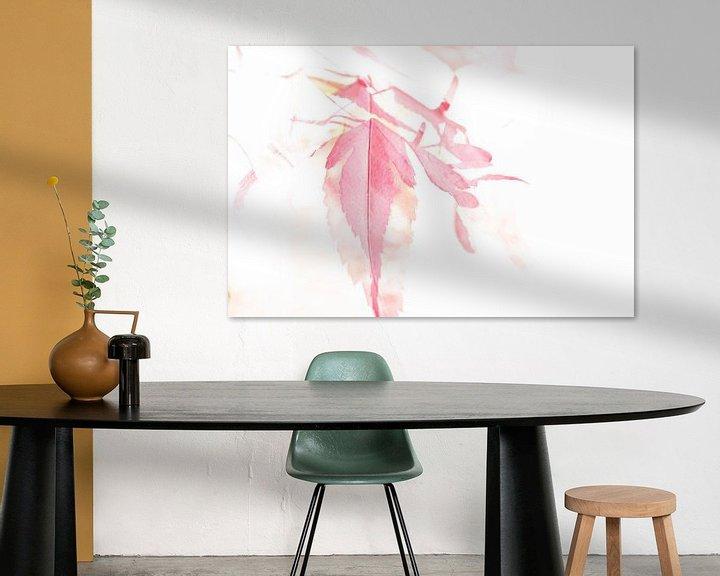 Beispiel: Aquarell Japanischer Ahorn von Erna Böhre