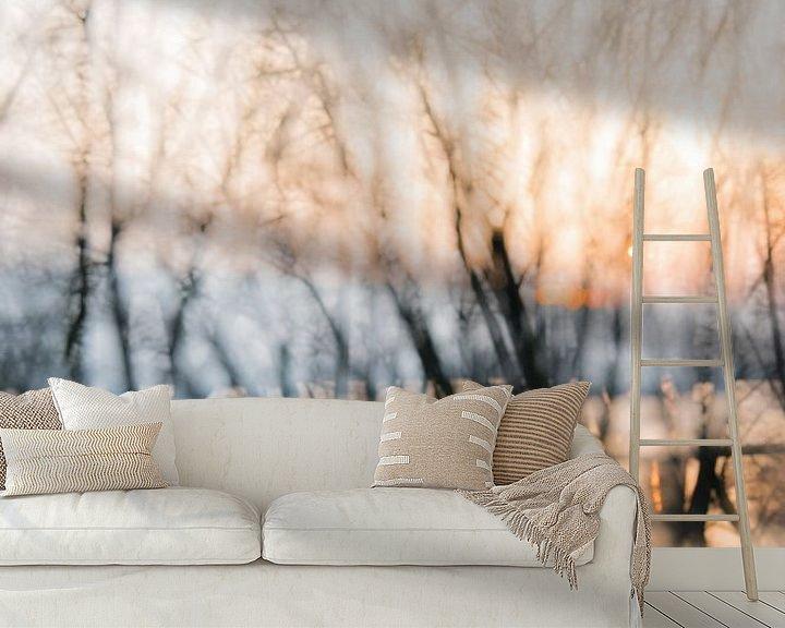 Sfeerimpressie behang: Water Wonderland van Erna Böhre