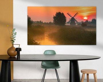 Noordermolen, Noorddijk, Groningen, Niederlande