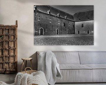 Oude binnenplaats van MSP Canvas