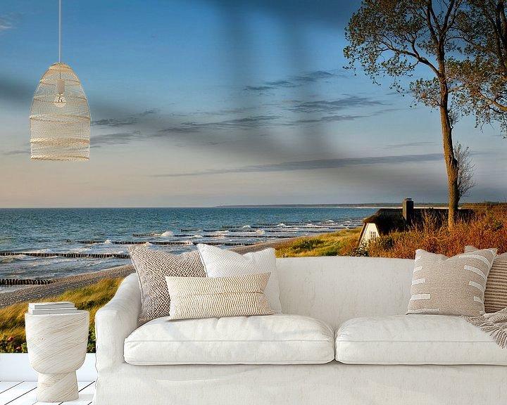 Beispiel fototapete: Wohnen am Strand von Claudia Moeckel