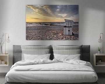 Blick auf den Sonnenuntergang von Claudia Moeckel