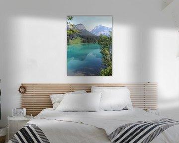 Bow lake van Lucie Lindeman