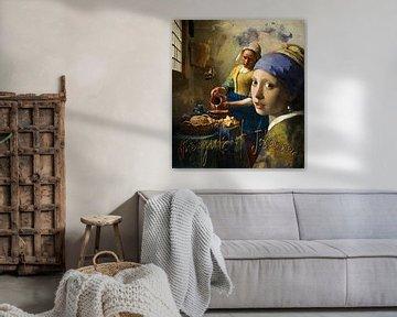 die Mädchen von Johannes von jejaka art