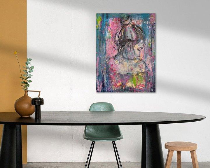 Sfeerimpressie: Shine van Flow Painting