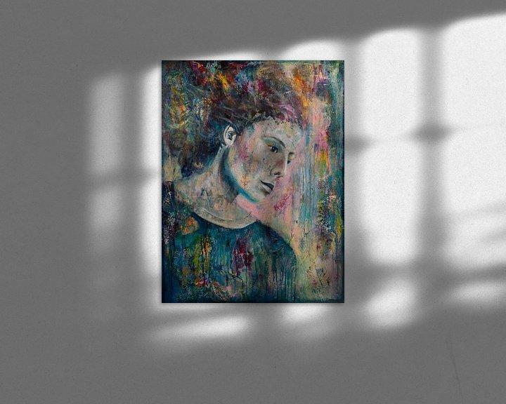 Sfeerimpressie: Color Flow van Flow Painting