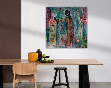 Sensibilisierung von Flow Painting