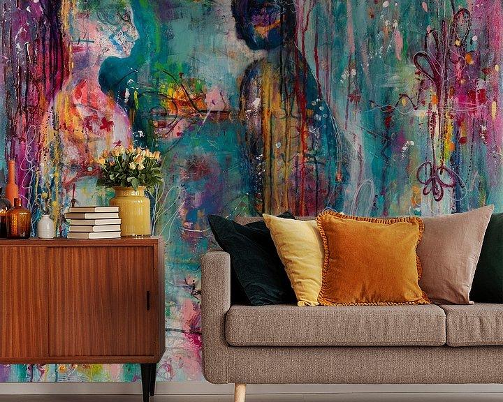 Beispiel fototapete: Sensibilisierung von Flow Painting
