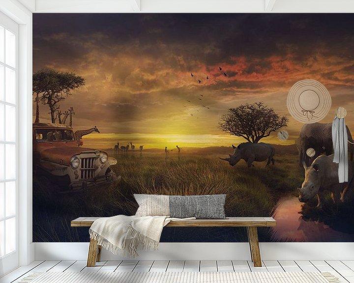 Beispiel fototapete: Die Schönheit Afrikas von Bert Hooijer