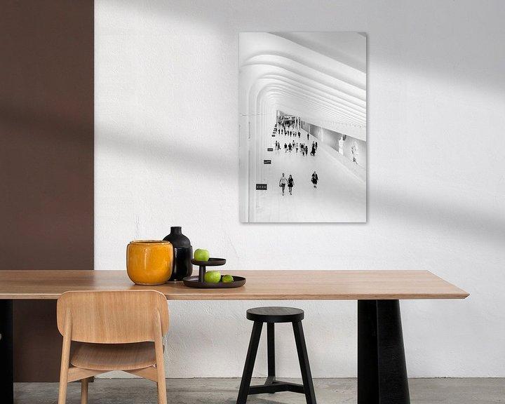 Sfeerimpressie: the Oculus in New York City van John van den Heuvel