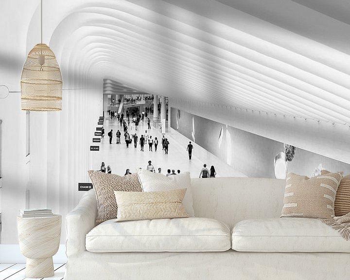 Sfeerimpressie behang: the Oculus in New York City van John van den Heuvel