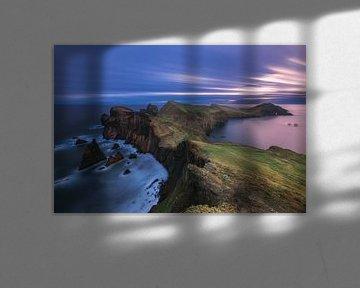 Madeira Ponta de Sao Lourenco bij zonsopgang van Jean Claude Castor