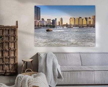 Die Skyline von Rotterdam von Petra Brouwer