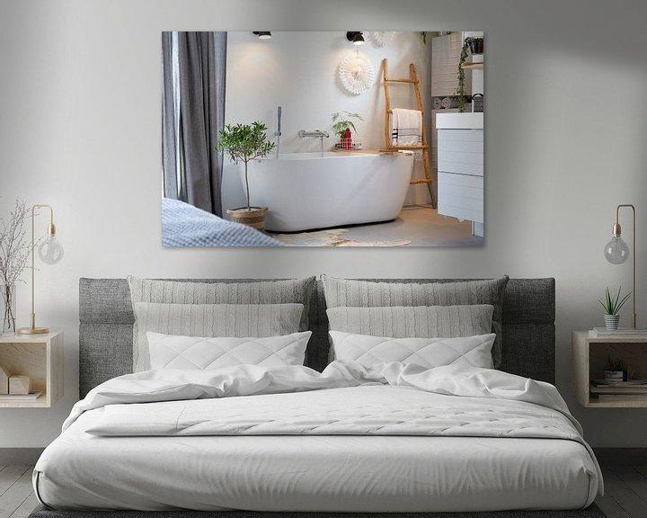 Sfeerimpressie: De badkamer van Petra Brouwer