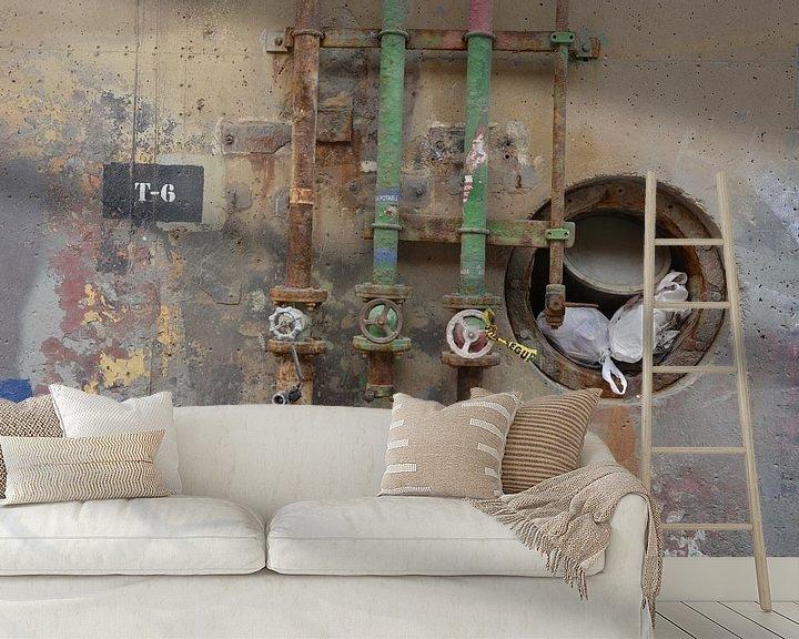 Sfeerimpressie behang: Gehavend Goed van Ferdinand Harts