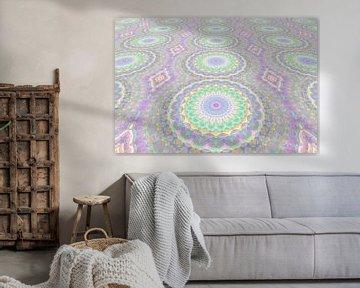 Mandala Art Pastell Perspektive
