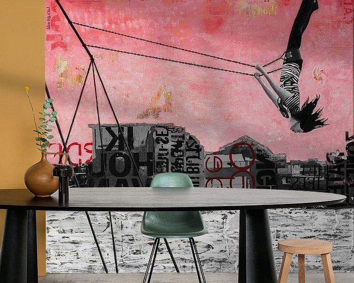 Sfeerimpressie behang: FRIDAY SWING van db Waterman
