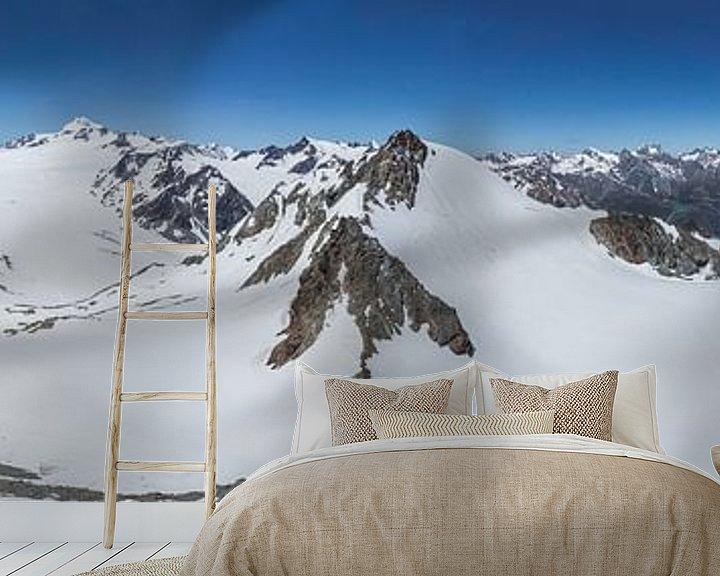 Beispiel fototapete: Wildspitze Panorama von Peter Moerman
