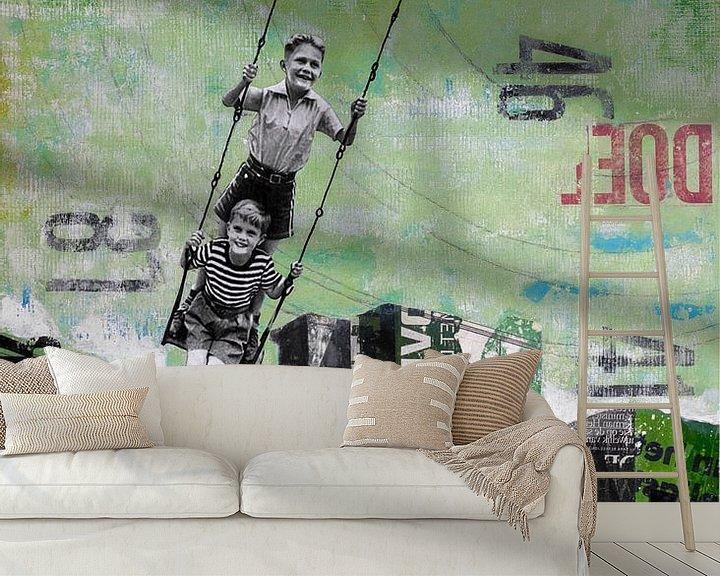 Sfeerimpressie behang: TUESDAY SWING van db Waterman